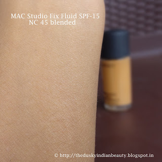 mac studio fix fluid foundation review