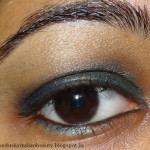 Quick and easy Green Smoky eye Tutorial