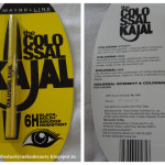 Maybelline Colossal Kajal- My take