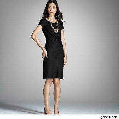 Accessorize to black dress