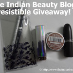The Indian Beauty Blog- IRRESISTIBLE giveaway: Win MAC, L'Oreal, Chambor and Maybelline goodies! (CLOSED)