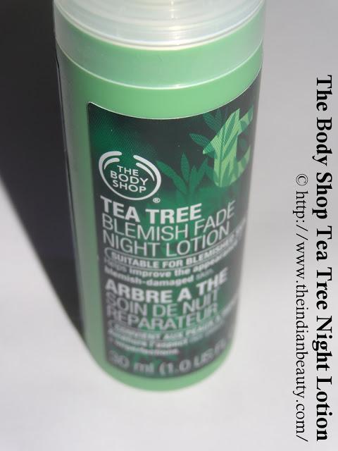 The Body Shop Tea Tree Blemish Fade Night Lotion (2)