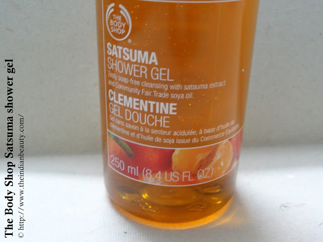 The Body Shop Satsuma Shower gel (4)