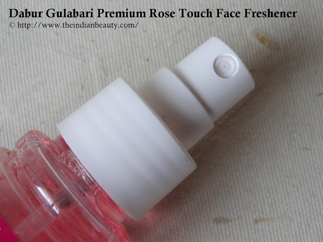 Dabur Gulabari Premium Rose Touch Face Freshener packaging