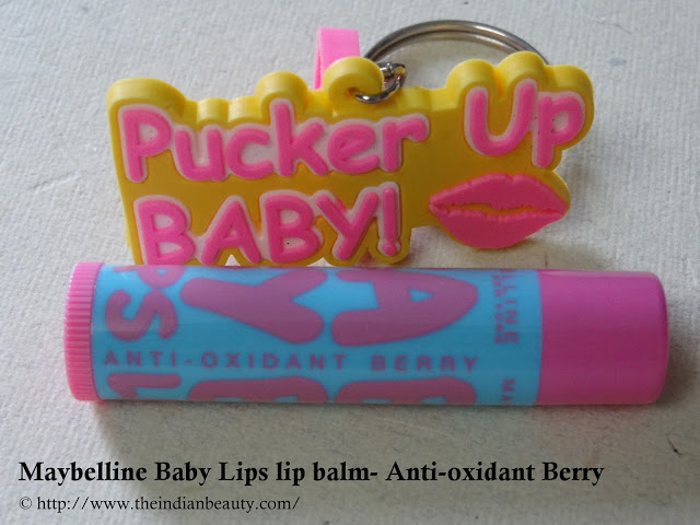 Maybelline Baby Lips lip balm- Anti-oxidant Berry (6)