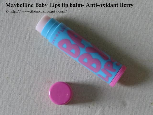 Maybelline Baby Lips lip balm- Anti-oxidant Berry (4)