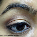 Simple festive eye make-up tutorial