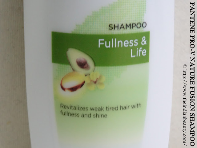 Pantene Pro-V Nature Fusion shampoo