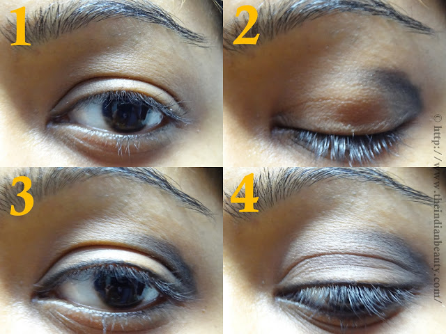 Smokey eye tutorial steps