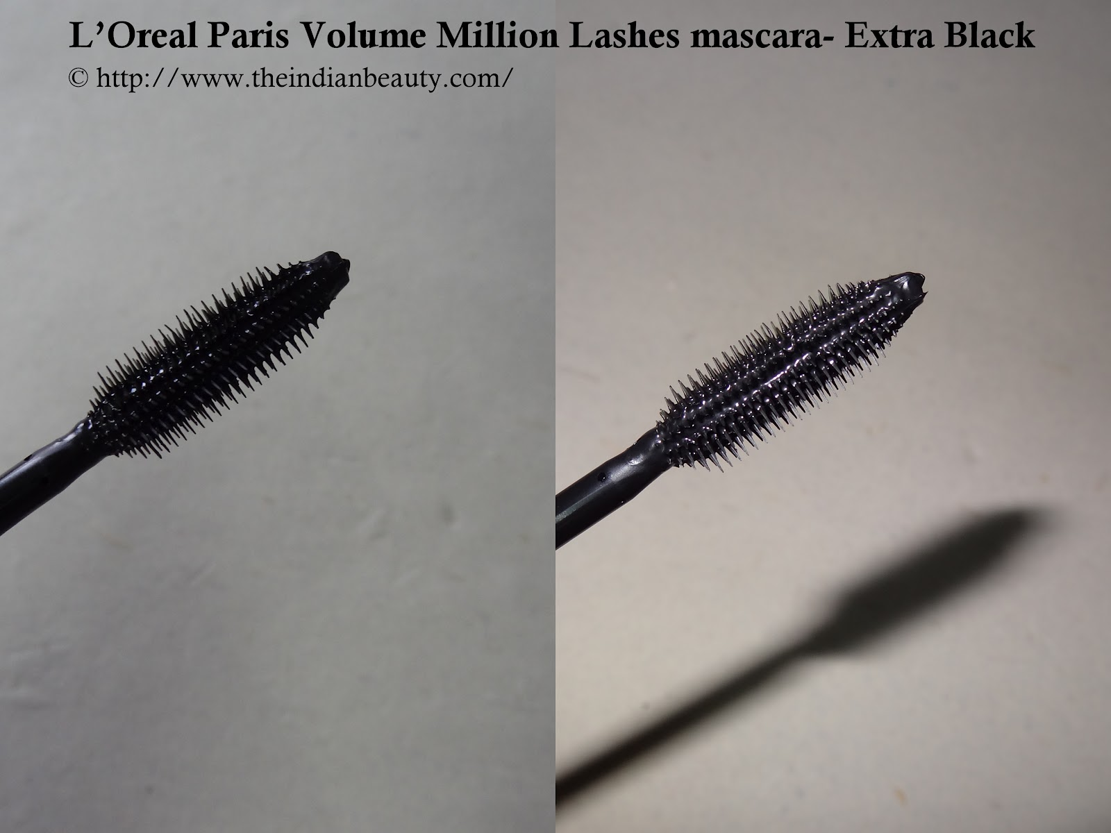 a3f95321ca7 L'Oreal Paris Volume Million Lashes mascara- Extra Black: Review ...