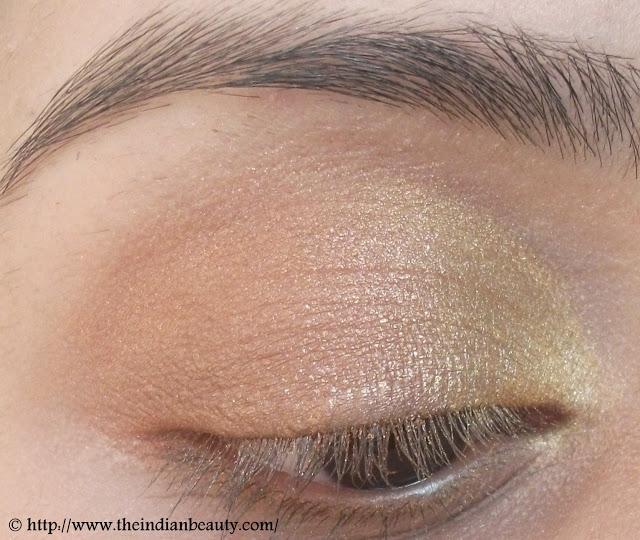 Gold & Bronze Festive Eyemakeup Tutorial