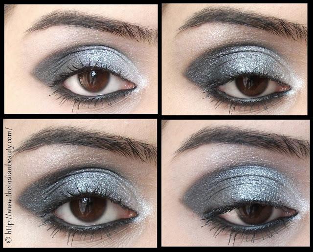 black smokey eyes make-up