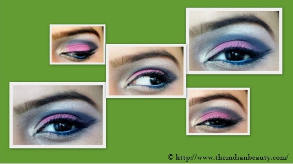 pink blue cat eyes