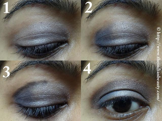 Funky festive eye make-up tutorial
