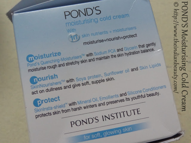 ponds moisturising cold cream