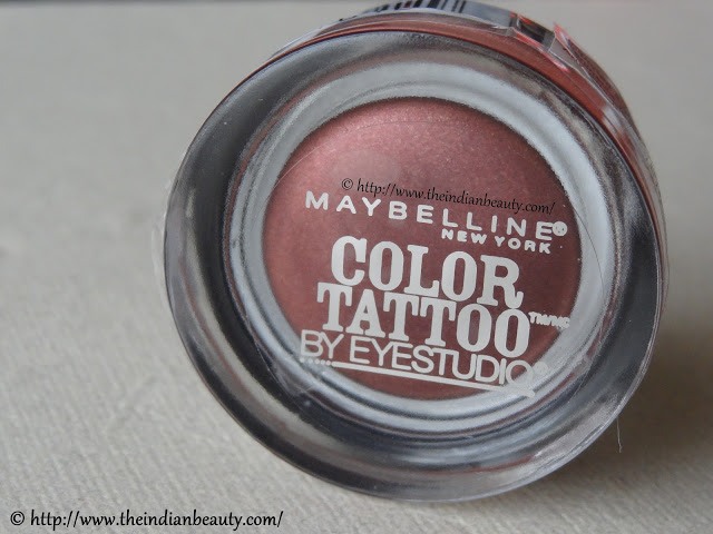 Maybelline color tattoo pomegranate punk review eotd for Maybelline color tattoo in pomegranate punk