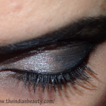 Silver-black smokey eyes in 8 simple steps: Tutorial