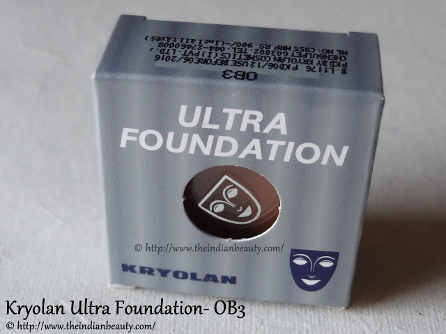 kryolan ultra foundation packaging