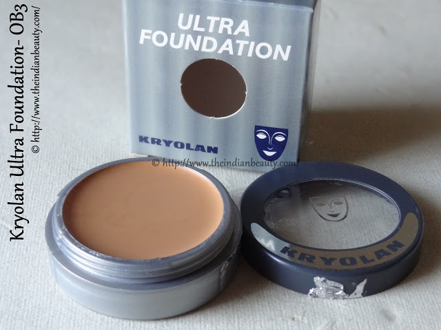 kryolan ultra foundation review