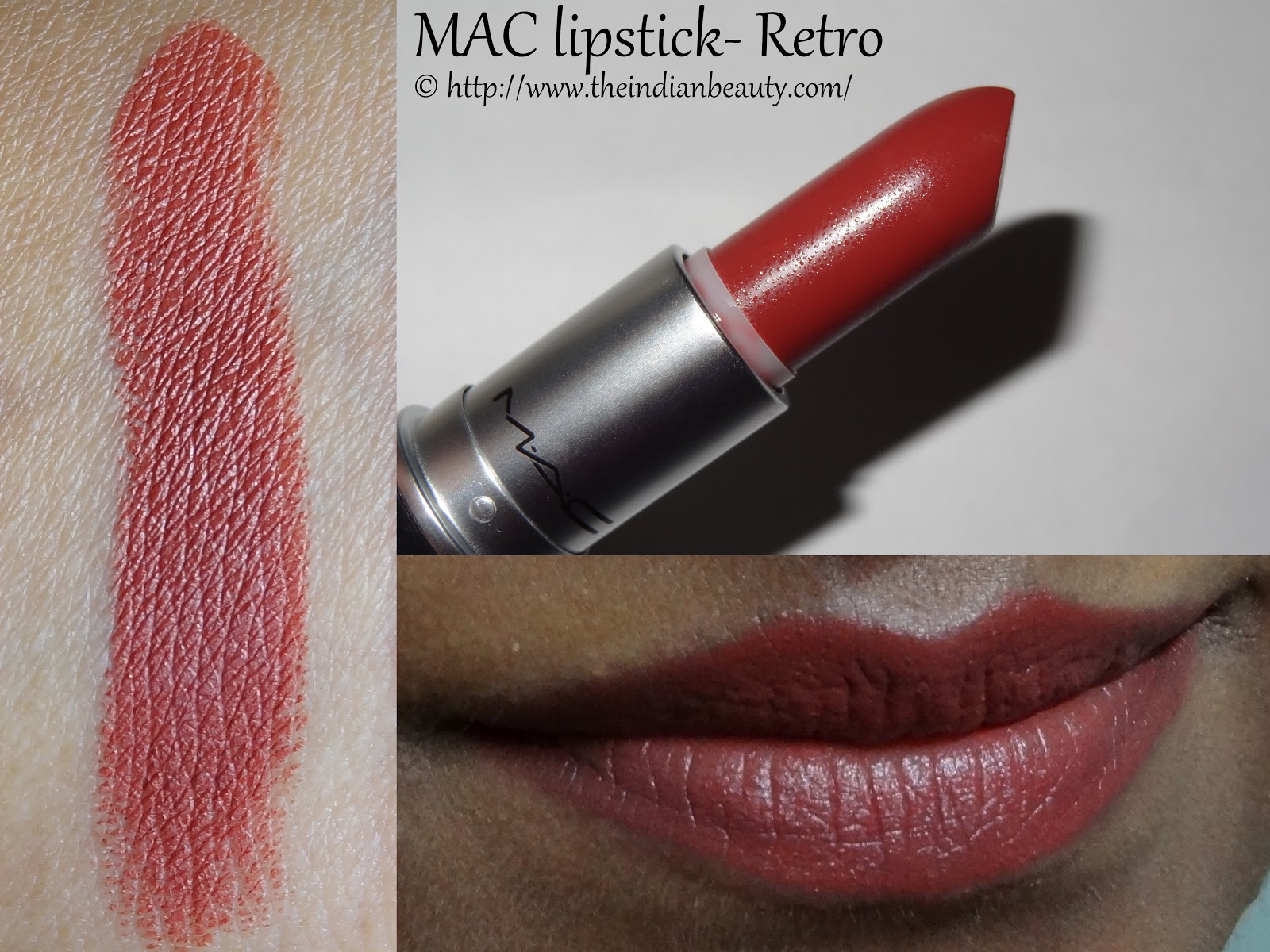 5 Mac Lipsticks Swatches And My Recommendations For Dusky Skin Tone The Indian Beauty Blog
