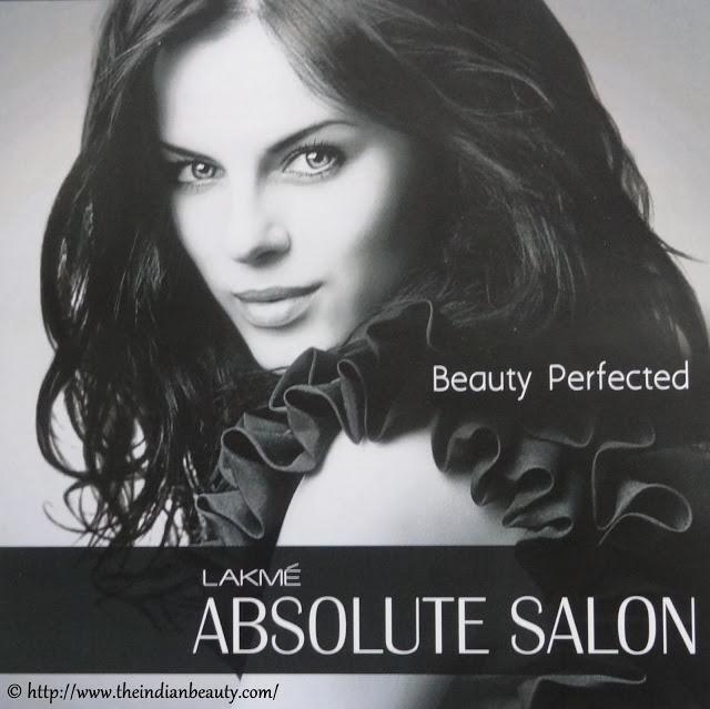 lakme absolute salon experience