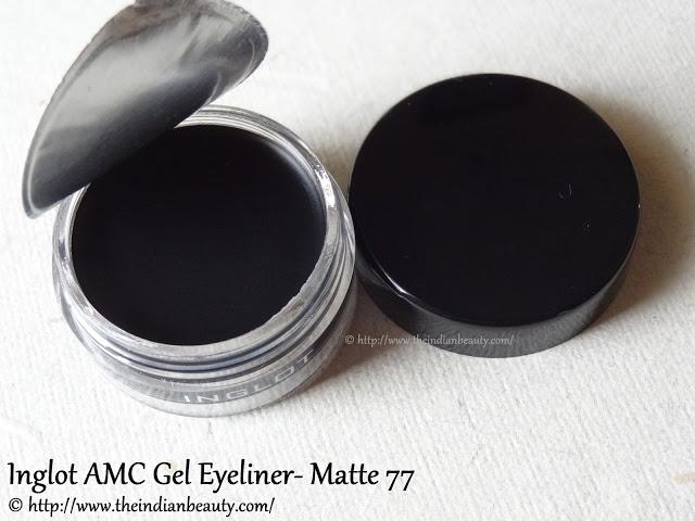 inglot amc eyeliner gel matte 77 reviews