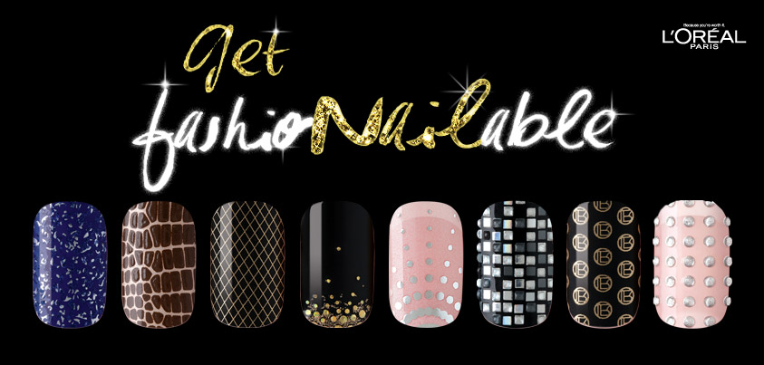 Get Fashionailable With New Loreal Paris Le Nail Art Stickers The