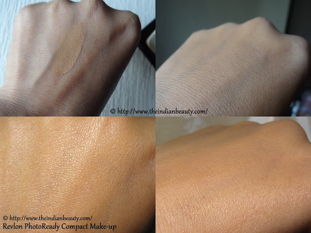 revlon photoready compact make-up swatches