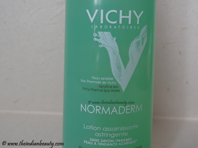 vichy normaderm purifying toner review