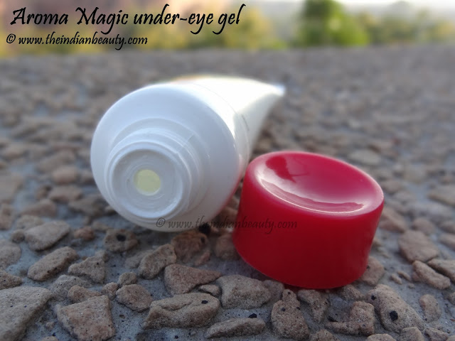 aroma magic under eye gel review dark circles and wrinkles