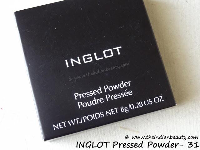 inglot pressed powder 31 review