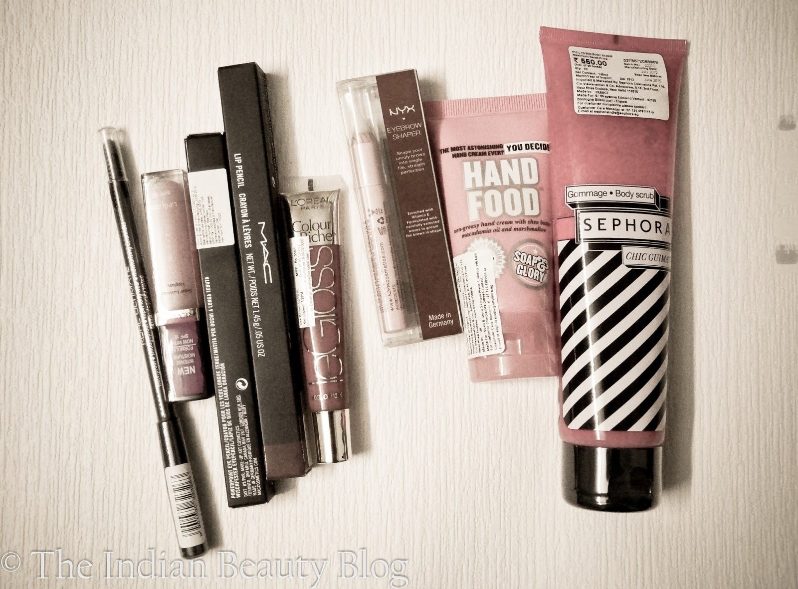 Coz I went to Sephora too! And what I had to bear! - The Indian ...