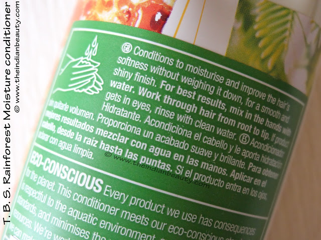 the body shop rainforest moisture conditioner review