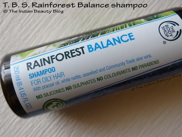 the body shop rainforest balance shampoo review