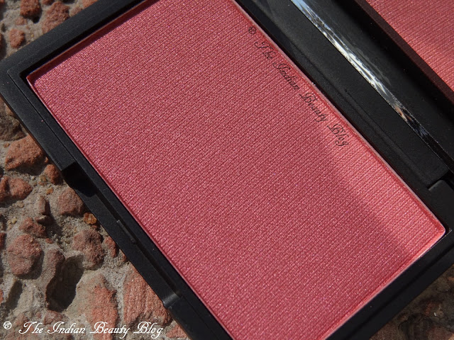 sleek powder blush pomegranate review (1)