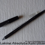 Lakme Absolute Kohl Ultimate: Review, swatches, EOTD