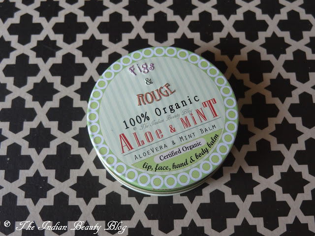 figs & rouge aloe and mint balm reviews