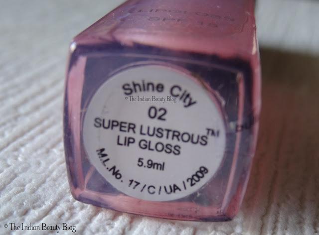 revlon super lustrous lip gloss shine city review