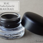 M.A.C. Fluidline Eyeliner Gel- Blacktrack: Review, swatch, EOTD