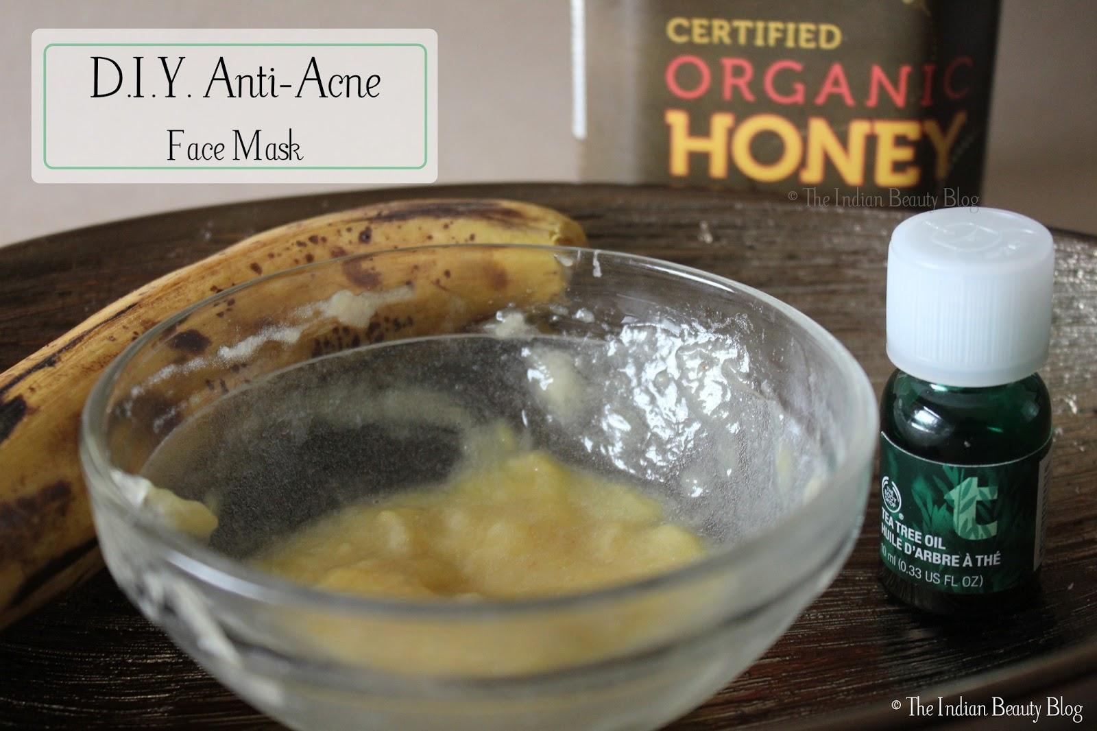 diy anti acne face mask