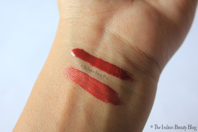 lotus herbals purestay lip gloss rose bud swatches