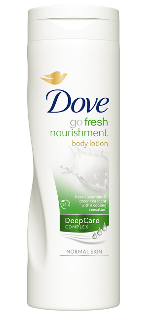 dove go fresh nourishment body lotion