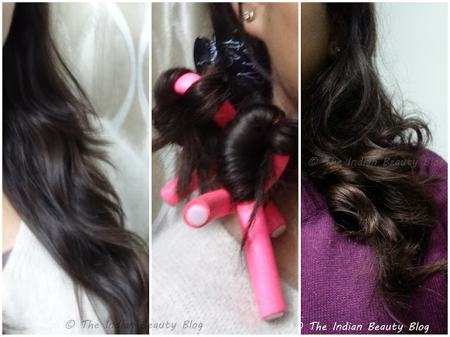 Bendycurlers For Hair Noheat Curling The Indian Beauty Blog