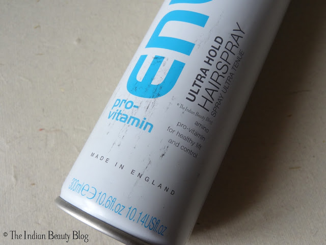 enliven ultra hold hair spray review