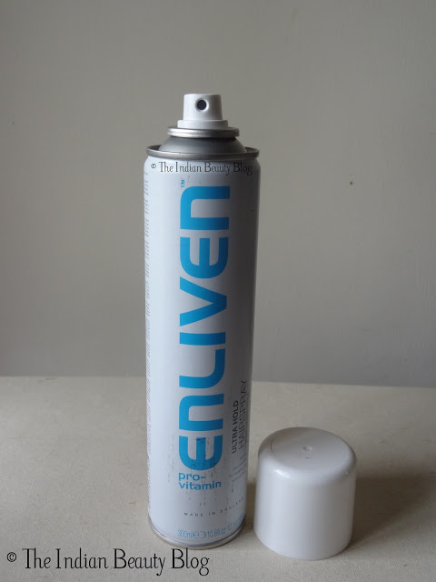 enliven ultra hold hair spray reviews