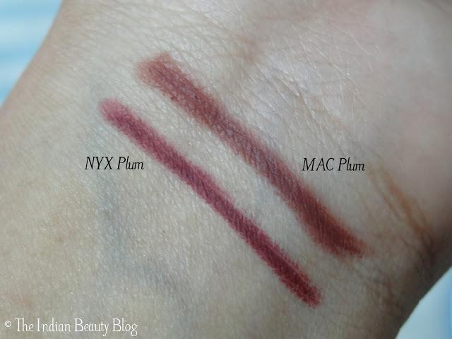 nyx auto lip pencil plum swatches