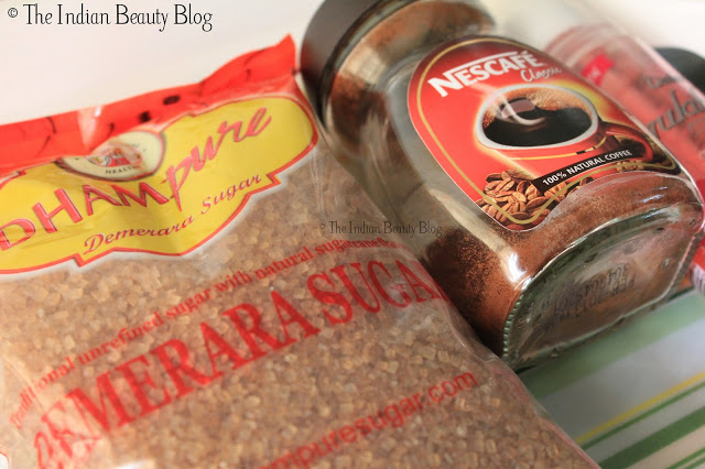 diy sugar and coffee scrub (1)