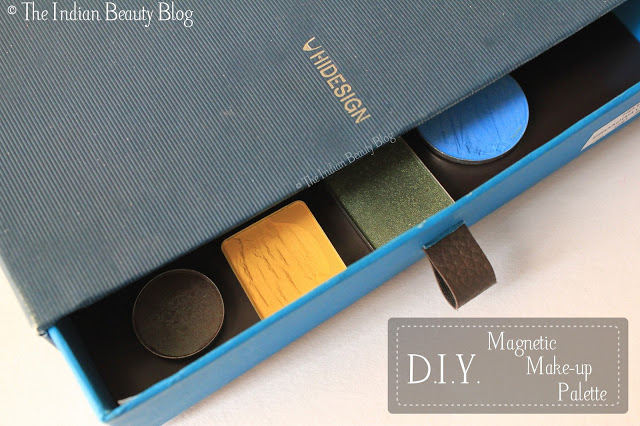 diy magnetic make up palette