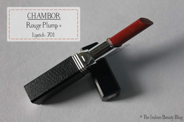 chambor rouge plump lipstick 701