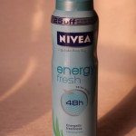 NIVEA Energy Fresh Deodorant (lemongrass): Review